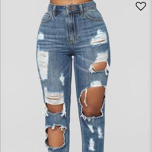 Janelle boyfriend jeans